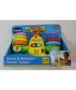 VTECH Stack & Balance Teeter Totter 12-36 Months NEW 40+ Songs and Melodies - $29.69