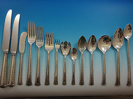 Nancy Lee by Reed and Barton Sterling Silver Flatware Set Service 186 pcs Dinner - $10,995.00