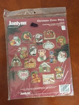 Janlynn 140-08 1993 Christmas Chums Ornaments Cross Stitch Kit New Seale... - $19.75