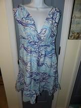 Lilly Pulitzer Skyla Squiggles Dress Size 6 Women's EUC - $100.00