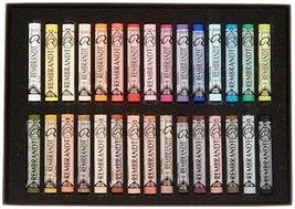 REMBRANDT Royal Talens Soft Pastels General Wood Box Set, 30 Stick - $115.23