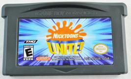 NICKTOONS UNITE! - Nintendo GAME BOY Advance Video Game! GAMEBOY - $1.99
