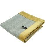 McAlister Textiles Herringbone Boutique Grey + Yellow Throw Blanket - $239.23+