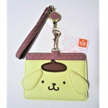 Pom Pom Purin Pass case with Reel IC card 24cm Sanrio Kawaii Character Japan - $64.18