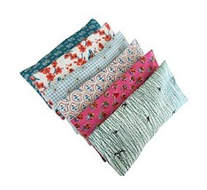 Peacegoods Aromatherapy Yoga Eye Pillow - Pack of 6 - 4.5 x 9 - Organic Lavender