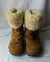 Women's UGG Australia Winter Light Brown Boots Size 9 - $37.99