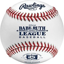 Rawlings Raised Seam Tournament Grade Babe Ruth League Baseball, 12 Count, RBRO - $45.38
