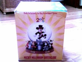 DISNEY Mickey Mouse 2000 Millenium Water Globe            14 - $42.31