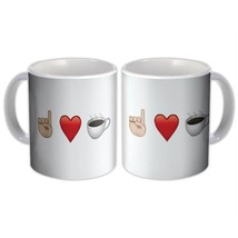 I Love Coffee Emoji : Mug Smiley Emoticon - $13.76