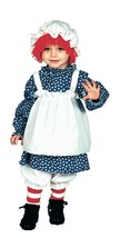 Toddler Raggedy Ann or Raggedy Andy Costume Official Licensed Peanuts/NWT - ₨1,851.43 INR