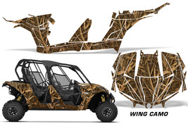 UTV Decal Graphic Kit Wrap For Can-Am Maverick MAX 1000R 4 Door 2017-2018 WING - $596.21