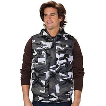 Men's Multi Pocket Zip Up Military Fishing Hunting Utility Tactical Vest (Large,
