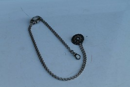 Old Rare Silver Chain for Pocket Watch 19Century - $114.94