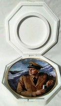 """John F. Kennedy 8"""" Hero Of Pt 109 Collectors Plate # X7148 By Max Ginsburg - $20.00"""