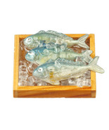 DOLLHOUSE MINIATURES FRESH FISH ON ICE #G7534 - $15.99