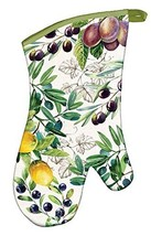 Michel Design Works Padded Cotton Oven Mitt, Tuscan Grove - $13.54