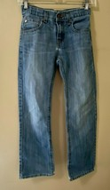 Levi'sDenizen 218 Slim Straight Fit Boys Distressed Denim Jeans Size 10 Reg - $14.50