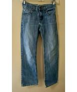 Levi'sDenizen 218 Slim Straight Fit Boys Distressed Denim Jeans Size 10 Reg - $14.50