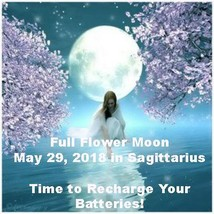 HAUNTED TUES MAY 29 27X FULL COVEN FLOWER FULL MOON BLESSINGS Cassia4 Magick  - $38.00