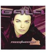 Gala Freed From Desire Single CD 6-Track Remix Radio Edit Club Mix 1996 - $8.95