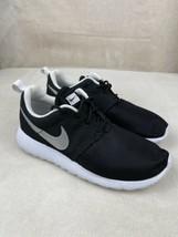 Nike Roshe One Black/Silver-White Big Kids Running Shoes Size 4.5y / Wom... - $29.67