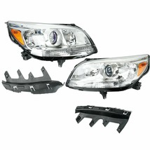 LEFT+RIGHT For 2013-2015 Chevy Malibu Replacement Halogen Projector Headlights - $296.94