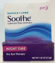 Bausch + Lomb SOOTHE Night Time PM Lubricant Eye Ointment EXP. 4/2022 - $10.92