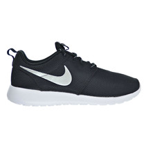 Nike Rosherun Women's Shoes Black-White-Metallic Platinum 511882-094 - $89.95