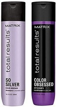 MATRlX Total Results So Silver Color Obsessed Shampoo & Color Obsessed C... - $28.39