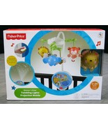 FISHER PRICE Twinkling LIGHTS PROJECTION Infant Baby Bed Crib Musical Mo... - $124.99