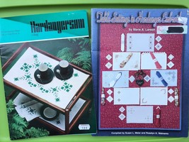 Hardanger Embroidery Pattern Book Lot - Table Settings / Home Linens  - $37.62