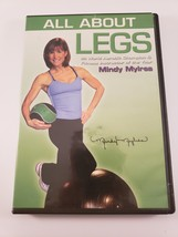 Exercise Fitness Workout Dvd All About Legs Mindy Mylrea Instructor Of T... - $6.79