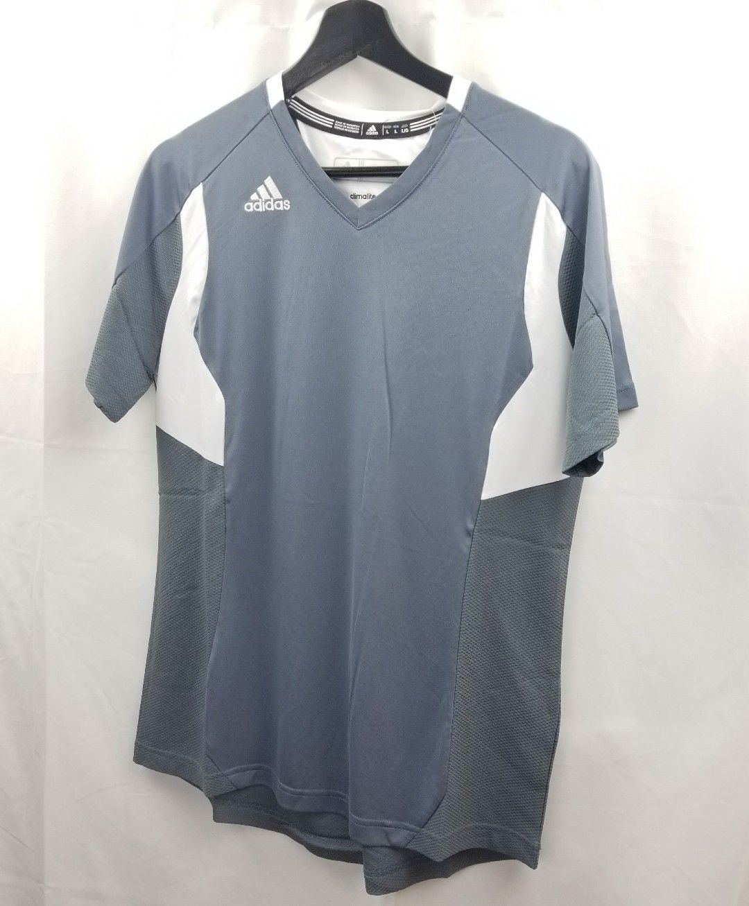 25d093770a94 Adidas womens climalite utility shirt v neck and similar items. S l1600