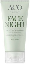 ACO Face Mattifying Night Cream Moisturiser For Oily Skin 50 ml / 1.7 Oz - $18.20