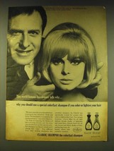 1964 Clairol Shampoo Ad - This world-famous hairdresser tells why - $14.99