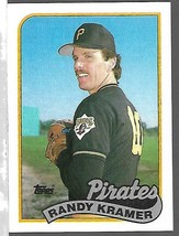 1989 Topps Baseball  -#522-Randy Kramer-Pirates-Pitcher - $4.04
