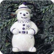 Hallmark Keepsake Holiday Favorites Collection Dapper Snowman QK105-3 1994 - $1.74