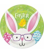 "Creative Converting 343168 Happy Easter Dessert Plates, 7"", Multi-color - $6.49"