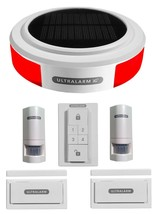 3G GSM Solar Powered Wireless Burglar Alarm Double Kit (Ultralarm) - $255.29+