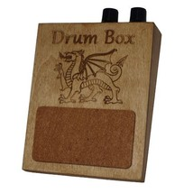 Volume and Tone Control Stompbox Rhythm Foot Drum Stomp box Cigar Box Gu... - $34.55