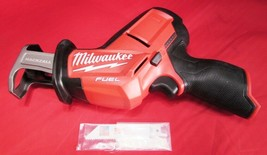 MILWAUKEE M12 12V 2520-20 FUEL BRUSHLESS HACKZALL RECIPROCATING SAW - NEW! - $123.21