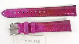 Michele MS16AA430507 B Twilight PurpleGenuine Patent Leather Watch Band NEW $100 - $65.99