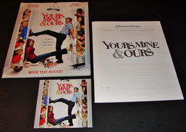 2005 YOURS MINE & OURS Movie PRESS KIT Folder, CD, Production Notes Denn... - $12.59