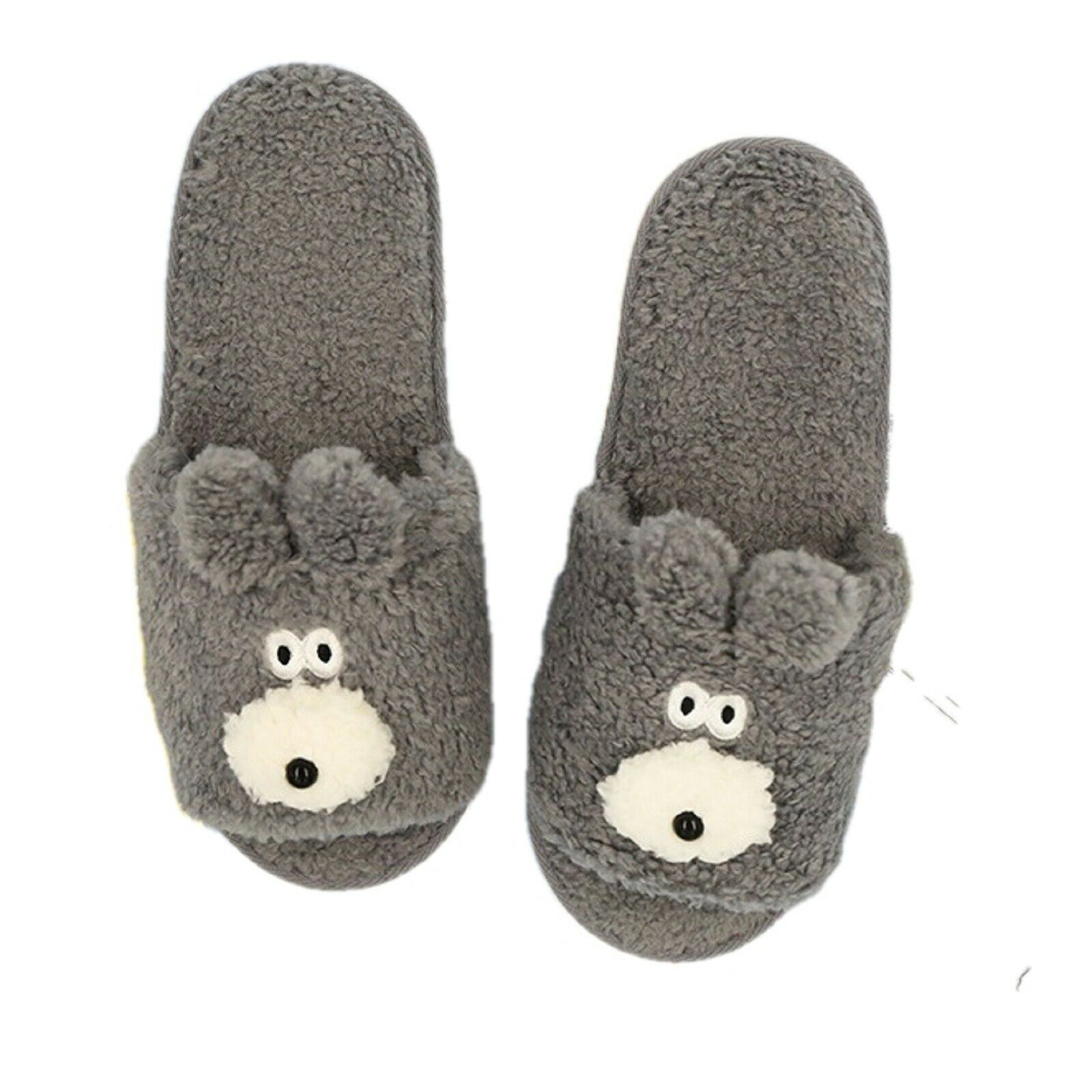 Brunch Brother Woman Home Slippers US Size 6.5 to 9 Free Size (Bunny)