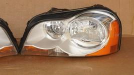 03-06 Volvo XC90 Xenon HID Headlight Head Lights Matching Set L&R - POLISHED image 2