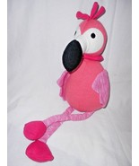 Target Pillowfort Pink Flamingo Plush Stuffed Animal Knitted - $12.75
