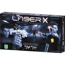Laser X Tag Set — 2 Laser Blasters, 2 Receiver Vests - $56.19