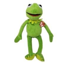 "16 "" Ty Bonnet Pot Kermit la Grenouille Disney 2015 Peluche Animal Jouet Avec - $32.53"
