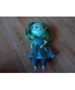 "Disney Store Inside Out Green Disgust Talking Doll 9"" Lights Sounds EUC - $20.00"
