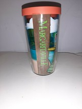 Tervis 16 oz Margaritaville Tumbler Mug Travel Cup with Orange Lid Dishw... - $14.95